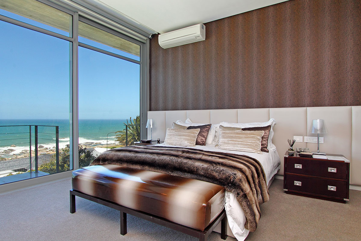 Villa Luxus bedroom Cape Town