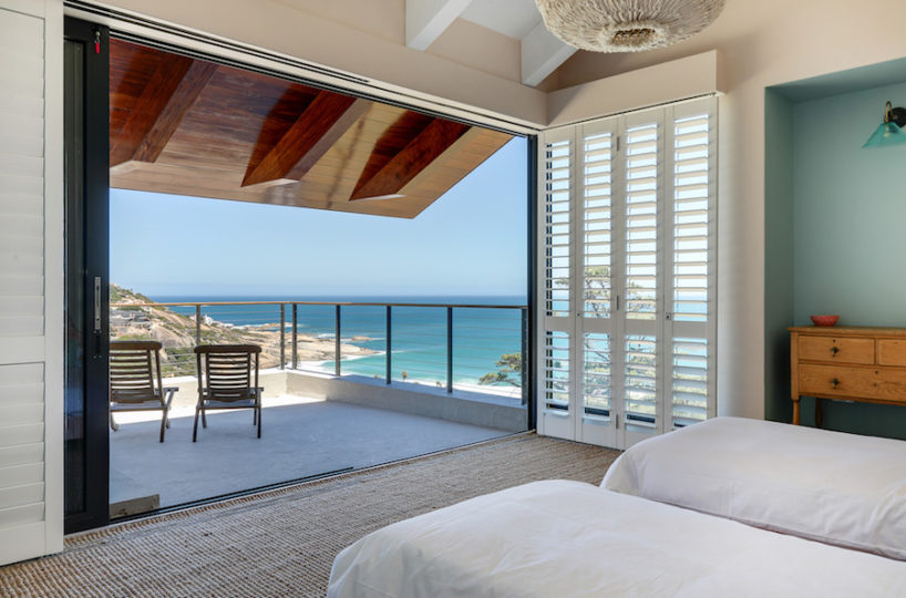 Luxury Beach House Bedroom With Sea Views