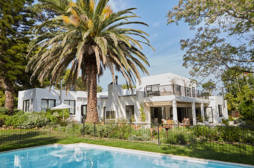 Private Villa Rental in Constantia with pool