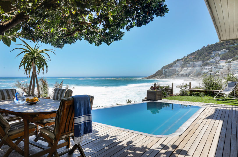 Clifton Beach House Rental with Pool