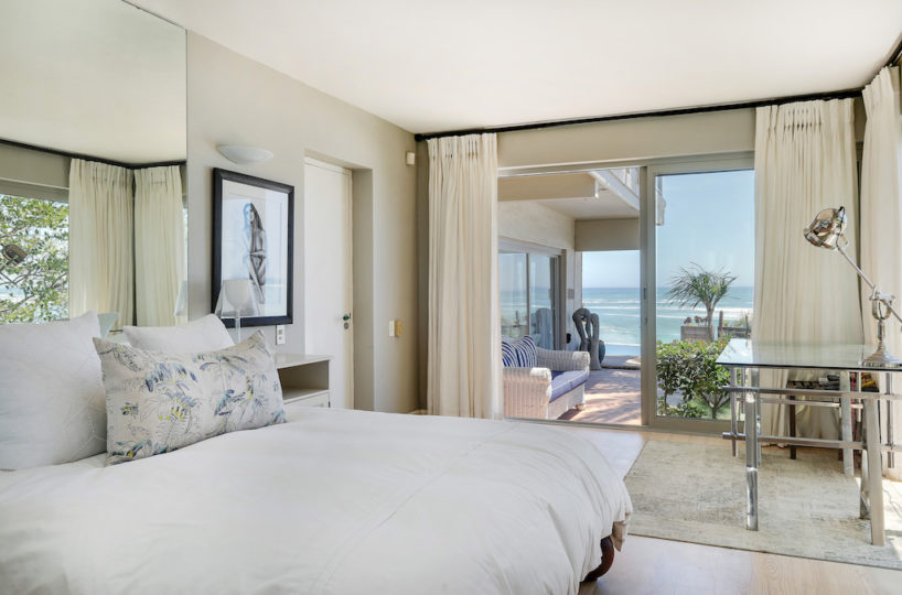Clifton Beach House Double Bedroom with Sea View
