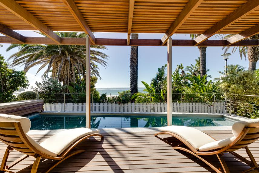 Clifton Beach Villa with Pool - Bungalow 52