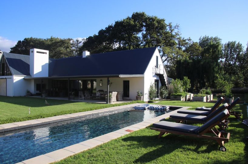 Luxury Villa rental in Franschhoek
