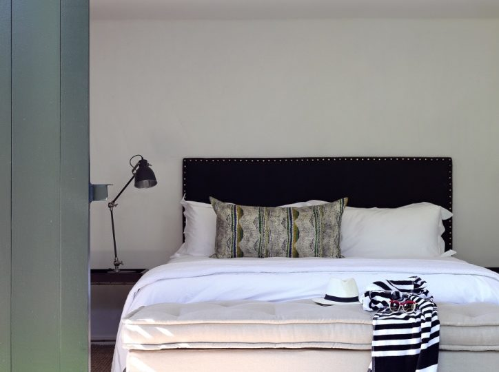 Bedroom at The River house